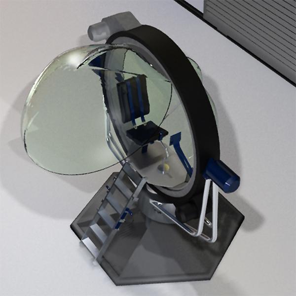 Solucionamos questões ergonômicas relativas à interações imersivas, no âmbito físico e virtual