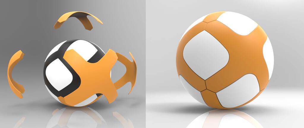 Bola de Futebol Golty